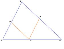Треугольник-ромб