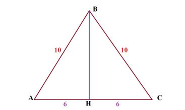 Основание равнобедренного треугольника равно 12