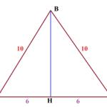 Основание АС равнобедренного треугольника равно 12